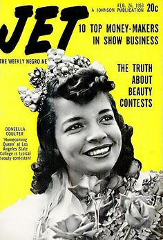 The Truth About Beauty Contests Like Donzella Carter - Jet Magazine, February 26, 1953 | Flickr - Photo Sharing!