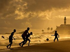 Soccer Picture -- Brazil Photo -- National Geographic Photo of the Day