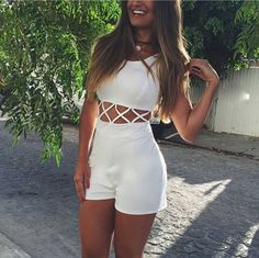 @biascardoso Casual Dresses, Short Dresses, Casual Outfits, Summer Outfits, Cute Outfits, Moda Hipster, Girl Fashion, Fashion Outfits, Kinds Of Clothes