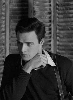 Marlon Brando, 1947. Photo: Serge Balkin.