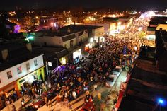 Celebrating the New Year in Carytown, Richmond, VA