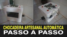 CHOCADEIRA ARTESANAL AUTOMÁTICA (PASSO A PASSO)