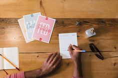 It's back! This year's limited run 12-month letterpress calendar fits perfectly…