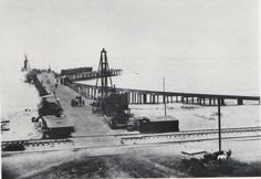 Old Redondo Beach California Pier circa 1890's.