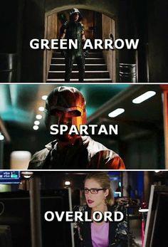 Arrow OTA - The Green Arrow - Spartan - Overlord
