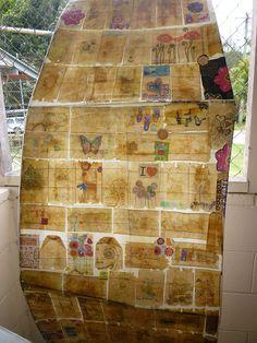 17 tea bag art by majikfaerie, via Flickr