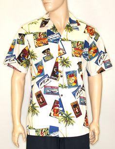a40d8adb Vintage Aloha Shirt for Men. Hawaii OutfitsAloha ShirtShirt StoreHawaiianMen  CasualHawaiian Clothes