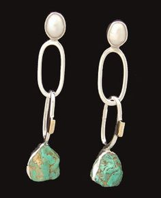 Looking for a piece of jewelry no one else will have? Invest in QUALITY! Handmade, silver, gold, semi precious stones and pearls.... we have a wide selection of crafted earrings, bracelets, and necklaces... many of which can be customized to your needs. Come see us today... at Quirks of Art!