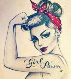 18 Pin Up Girl Tattoo: Cute and Beautiful Tattoo | Stylepecial