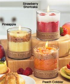 Kitchen Krumblers™ Dessert Candles