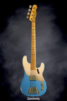 Fender Custom Shop 1951 Relic Precision Bass - Aged Lake Placid Blue