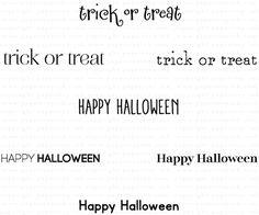 Keep It Simple: Halloween Mini Stamp Set: Papertreyink