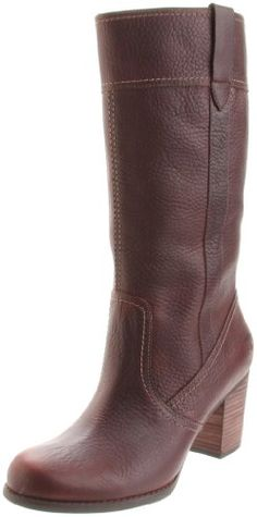 """It is almost impossible to find tall boots that fit petite women. This is one of my favorite boot purchases in a long time. The footbed is comfortable even though there's a good-sized heel. The shaft isn't too tall (I'm 5'1"""") and isn't overwhelmingly wide (although still a little wide on me, which gives these somewhat of a cowgirl-boot feel). The butterscotch coloring is gorgeous. Love, love, love these boots."""