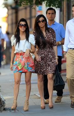 Oh how I wish I could have everything in Kourtney Kardashian's closet. Love that skirt