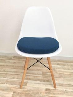 Uberlegen Blaues Stuhlkissen Für Eames Chair DSW, DSX, DAX Und Mehr Mit  Reißverschluss Von CreativebeaDE