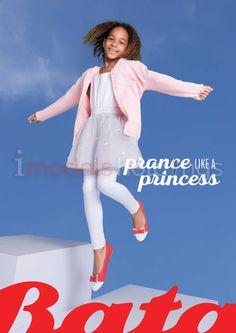 Josephine B prance and dance like a princess for Bata Print Ad.