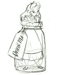 Alice in a bottle