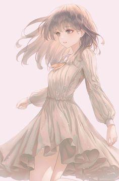 Anime Angel Girl, Cool Anime Girl, Pretty Anime Girl, Beautiful Anime Girl, Kawaii Anime Girl, Anime Art Girl, Anime Girls, Anime Oc, Female Anime
