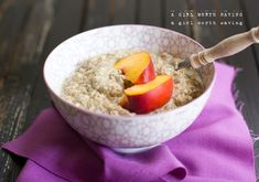 Paleo Oatmeal (A Hot Or Cold Cereal) #AGirlWorthSaving
