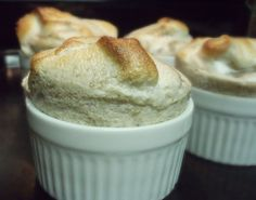 Banana Souffle - using up over-ripe bananas one recipe at a time.