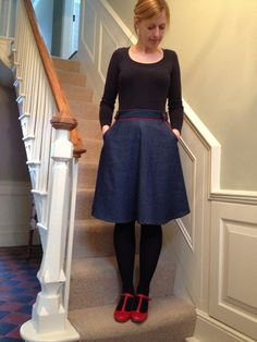 Denim Hollyburn Skirt.