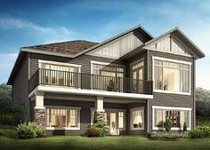 Great From the Front and Back - 81621AB   Craftsman, Mountain, Northwest, Canadian, Narrow Lot, 1st Floor Master Suite, Butler Walk-in Pantry, CAD Available, Den-Office-Library-Study, Media-Game-Home Theater, PDF, Corner Lot, Sloping Lot   Architectural Designs