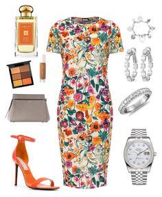 Designer Clothes, Shoes & Bags for Women Jo Malone, Blue Nile, Emilio Pucci, Mac Cosmetics, Rolex, Orange, Polyvore, Stuff To Buy, Shopping