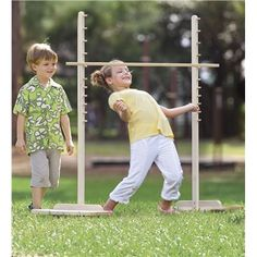 Wooden Limbo Game. Pin to win! Enter for your chance to win a $250 gift card at http://sweeps.piqora.com/magiccabinsummerimaginationsweepstakes Sweepstakes ends 5/20/14.