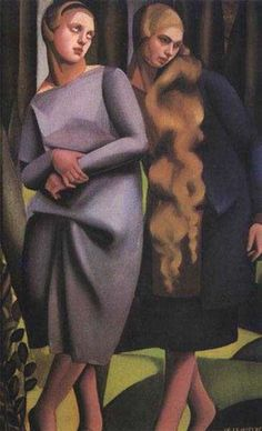 The Straw Hat - Tamara de Lempicka - WikiPaintings.org