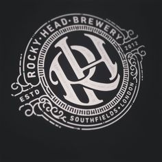 Work in progress... #emblem #lettering #monogram #wip #brewery #logo #logotype by andreasgrey