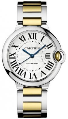 Cartier Ballon Bleu Unisex Steel and Gold Watch