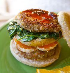 Welcome to the ultimate vegan breakfast sandwich.