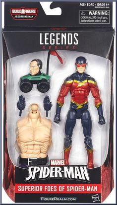 Speed Demon from Marvel Legends - Infinite Series - Absorbing Man Series manufactured by Hasbro [Front]