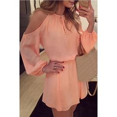 The Coral Rose Cold Shoulder Dress 1 LEFT Sassy Cold Shoulder Chiffon Dress MediumPlease see chart above for material and measurementsI'm offering 30% bundles. Also, you can use the red dot 4/$20 items to make my discount of 30% kick in ONLY 1 LEFT Boutique Dresses Mini
