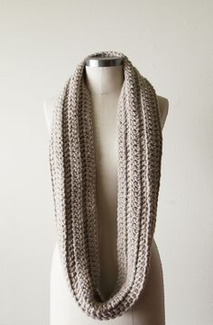 Image of Chunky Cowl in Linen