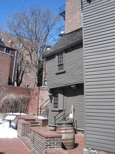 Oldest house in downtown Boston was once the home of Paul Revere
