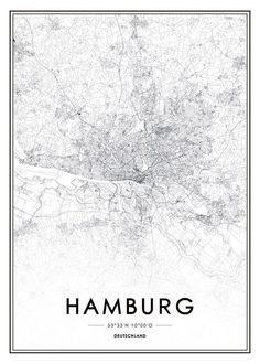 Hamburg, poster in the group Posters & Prints at Desenio AB