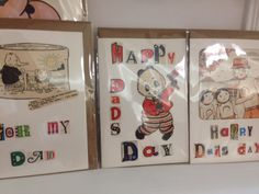 """Is Dad """"of a certain age?""""  He'll love these special cards featuring retro designs from More than Divine!"""