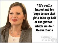 Ensure Your Sons See Movies and Read Books With Female Leads and Role Models Top 22 Viral Memes About Boys! A Must Read For Anyone Raising One International Girls Day, Geena Davis, Lgbt Rights, Human Rights, Smash The Patriarchy, Respect Women, See Movie, Kids Tv Shows, Body Image