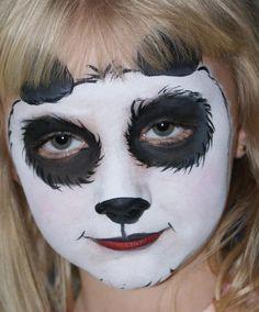 Panda #facepainting #KCO