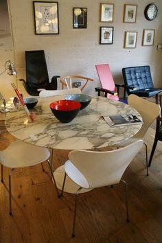 20th Century Design: Eero Saarinen Marble Table For Knoll £1450