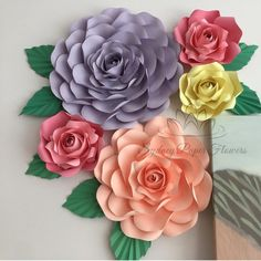 "485 Likes, 19 Comments - paper flower BACKDROPS (@sydneypaperflowers) on Instagram: ""Some more roses for your weekend) #mini_flower_backdrop"""