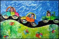 50_ECOLE-CLASSE_Voiture CD (fini) Cd Art, Petite Section, Photo Art, Transportation, Crafts For Kids, Archive, Lunch Box, Education, School