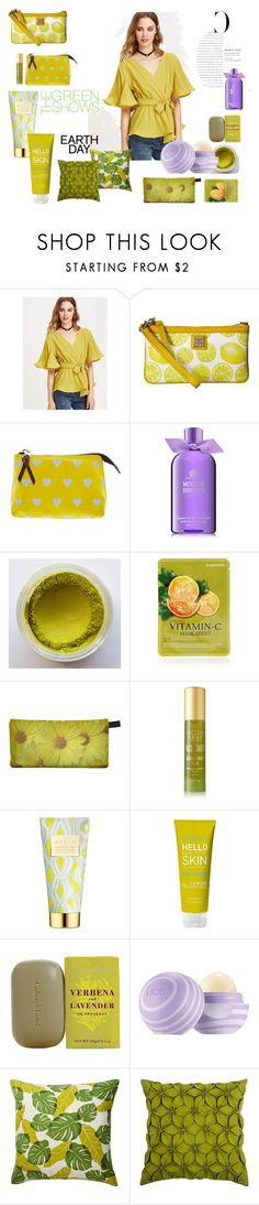 """""""Earth Day"""" by irishaiva ❤ liked on Polyvore featuring beauty, Dooney & Bourke, Molton Brown, Forever 21, Tracie Martyn, AERIN, You Are Amazing, Crabtree & Evelyn, Nordstrom Rack and Rizzy Home"""