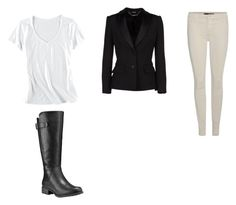 """""""Horse show"""" by lacibrendle on Polyvore featuring Horny Toad, Alexander McQueen, J Brand and Timberland"""