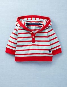 stripey hoodie