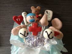 Nurse, doctor, medical cake pops by Haute Pop Couture