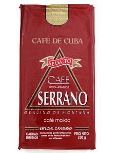 Buy Serrano Selecto Roasted & Ground 500g - FiXX Coffee Cuban Coffee, Coffee Branding, Coffee Is Life, Coffee Beans, Morning Coffee, Earthy, Roast, Blood, Make It Yourself