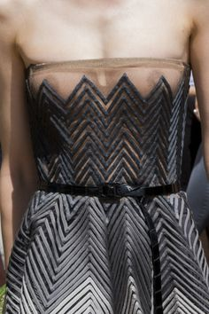 Christian Dior at Couture Fall 2017 - Details Runway Photos Transparent Clothes, Transparent Dress, Strapless Bikini Top, Christian Dior Couture, See Through Dress, Runway Fashion, Womens Fashion, Attractive Girls, Fashion Show Collection