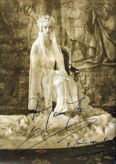 Princesse Marie-Josée de Belgique, le jour de son mariage